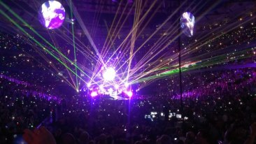 Coldplay Mylo Xyloto Chicago, Il 2012.  Property of Kristen DeLange