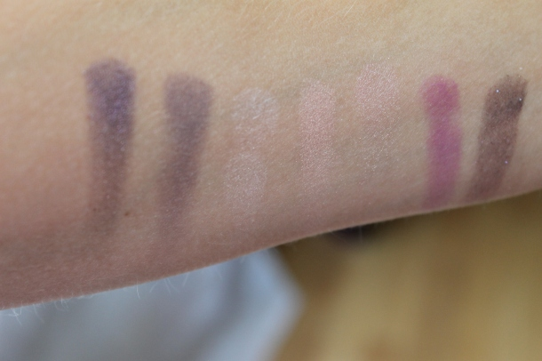 Marc Jacobs Style Eye-Con No. 7 swatches. Pic by www.somethingtoconsiderblog.com