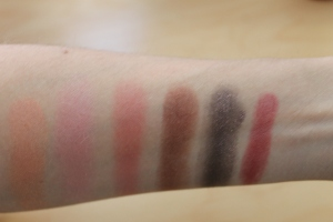 From Left to Right: Fairly Precious, At Dusk, Autoerotique, Amorous Alloy, It's Physical, Morning Rose. Photo by www.somethingtoconsiderblog.com